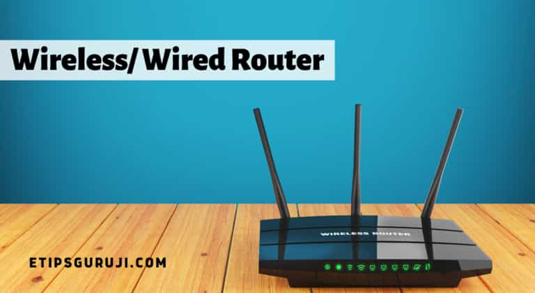 Wireless/Wired Router